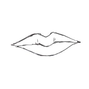 如何画嘴唇手绘